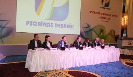Psoriasis sedef Derneği Ankara'da heyetti.