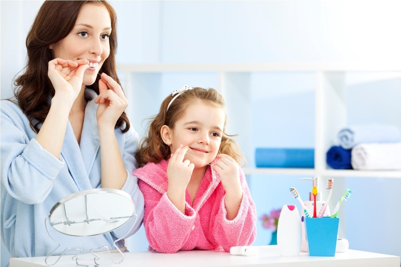 Çocuklarda Diş İpi Kullanmalı
