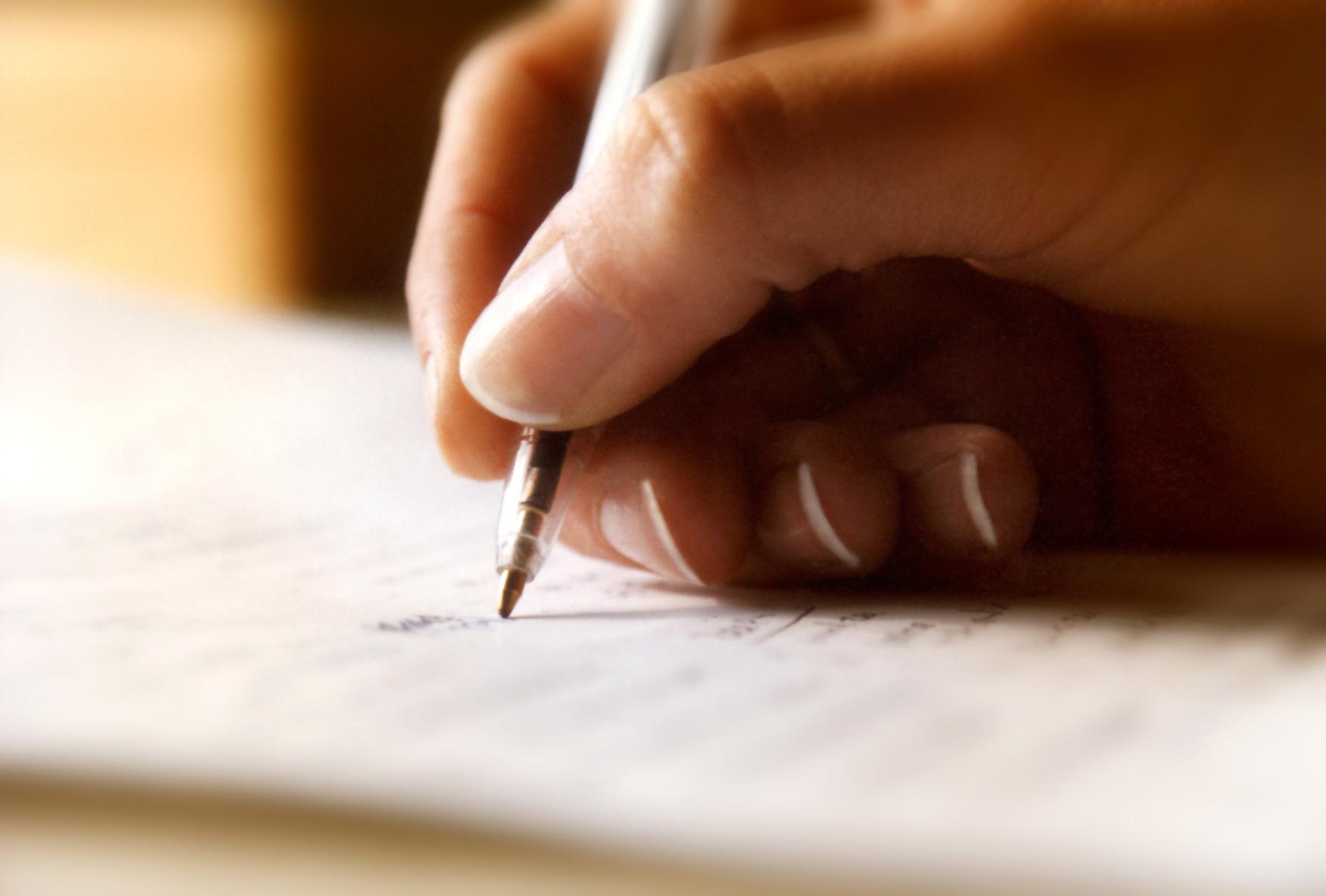 Duygularınızı yazın, hastalıktan kurtulun